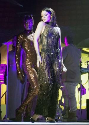 Rihanna - Performs at Anti World Tour in Miami