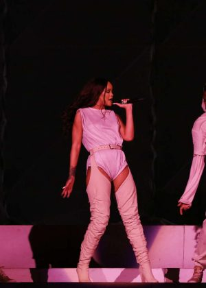 Rihanna: Performs at Meazza stadium in Milano -19
