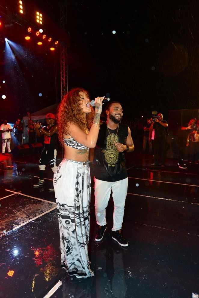 Rihanna - Performs at the 1LOVE Festival in Barbados
