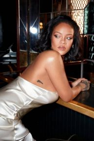 Rihanna - Photoshoot for Fenty Beauty: Cream Blush and Bronzer 2020