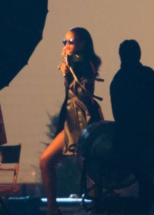 Rihanna - Photoshoot in Versailles