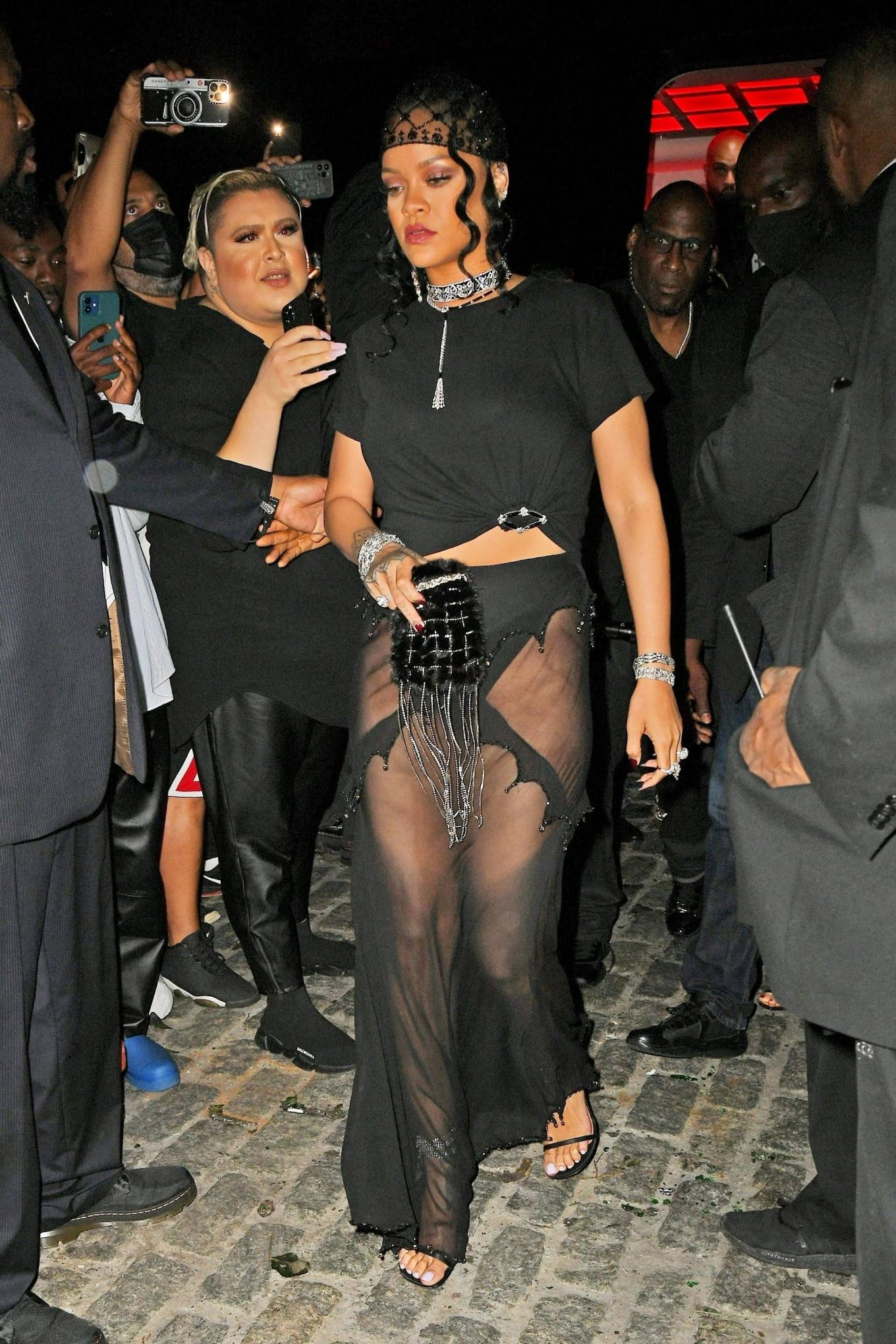 Rihanna - Pictured after Met Gala after party in New York