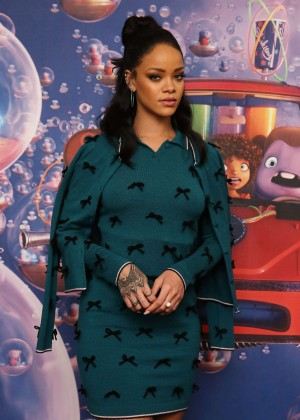 Rihanna - Promoting 'Home' in NYC