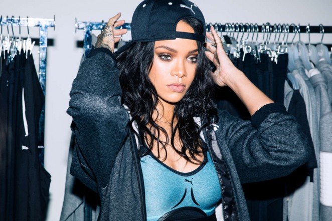 Rihanna - PUMA Shoot (Behind The Secenes)
