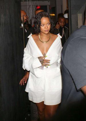 Rihanna - Revolve Launch: MadeWorn x Roc96 Capsule in LA