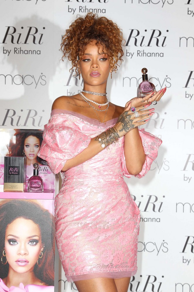 Rihanna - 'RiRi' Fragrance Launch in NY