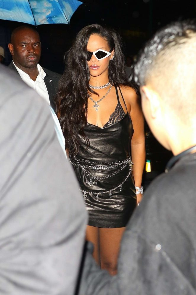 Rihanna – Savage x Fenty Fashion Show After Party in New York