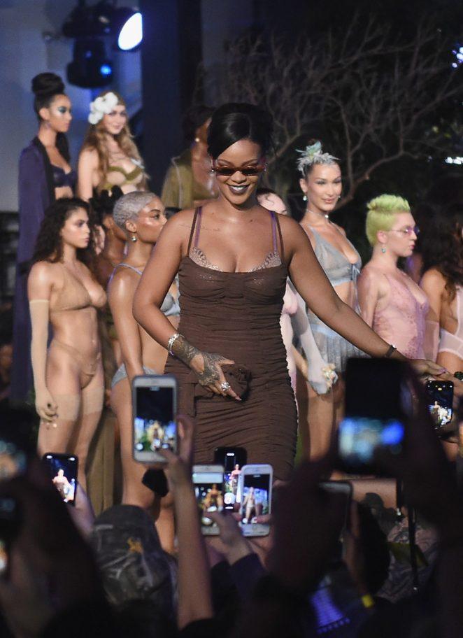 Rihanna - Savage x Fenty Fashion Show in New York