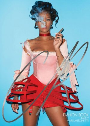 Rihanna - Terry Richardson Photoshoot for CR Fashion Book Fall-Winter 2016