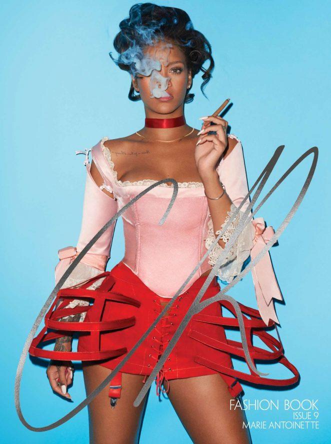 Rihanna - Terry Richardson Photoshoot for CR Fashion Book Fall-Winter 2016