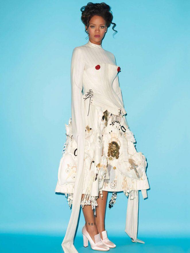 Rihanna: Terry Richardson Photoshoot for CR Fashion Book 2016 -10