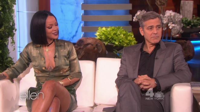 Rihanna - The Ellen DeGeneres Show in LA
