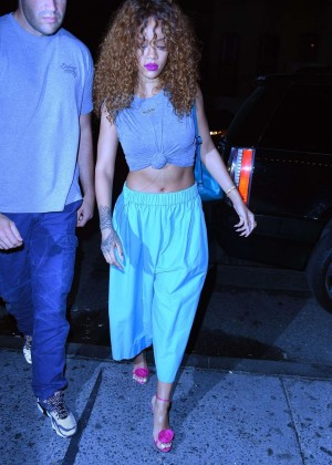 Rihanna - Up & Down Nightclub in West Village