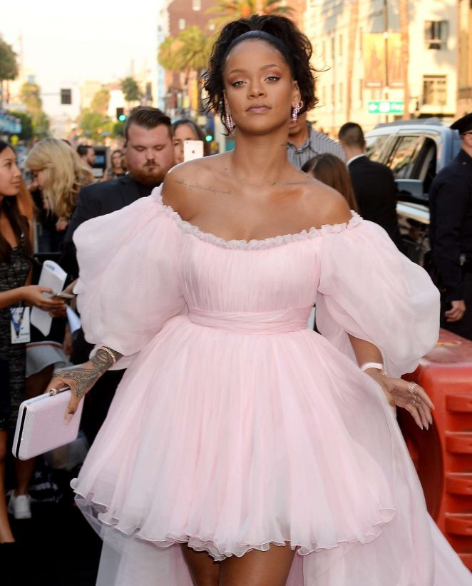 Rihanna - 'Valerian and The City of a Thousand Planets' Premiere in Hollywood