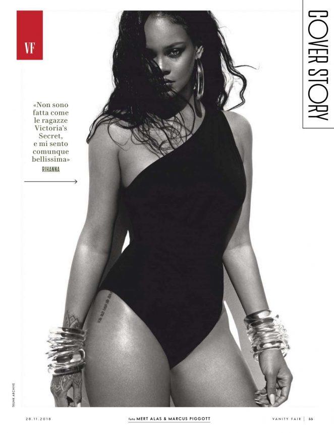 Rihanna - Vanity Fair Italy Magazine (November 2018)