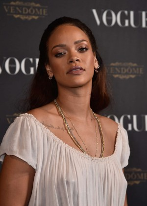Rihanna - Vogue 95th Anniversary Party in Paris