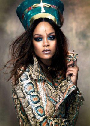 Rihanna - Vogue Arabia Magazine (November 2017)