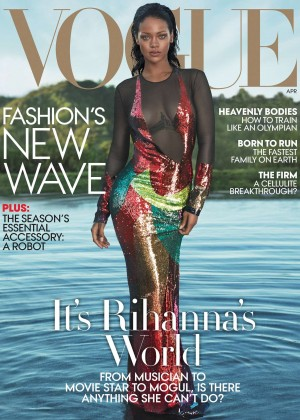 Rihanna: Vogue Magazine 2016 -04
