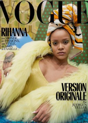 Rihanna - Vogue Paris Cover (December 2017/January 2018)