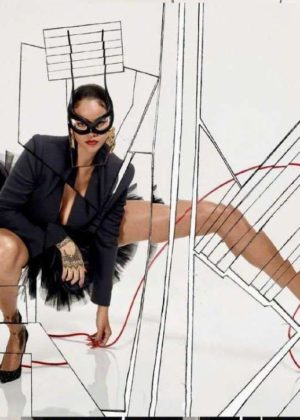 Rihanna - Vogue Paris Magazine (December 2017)