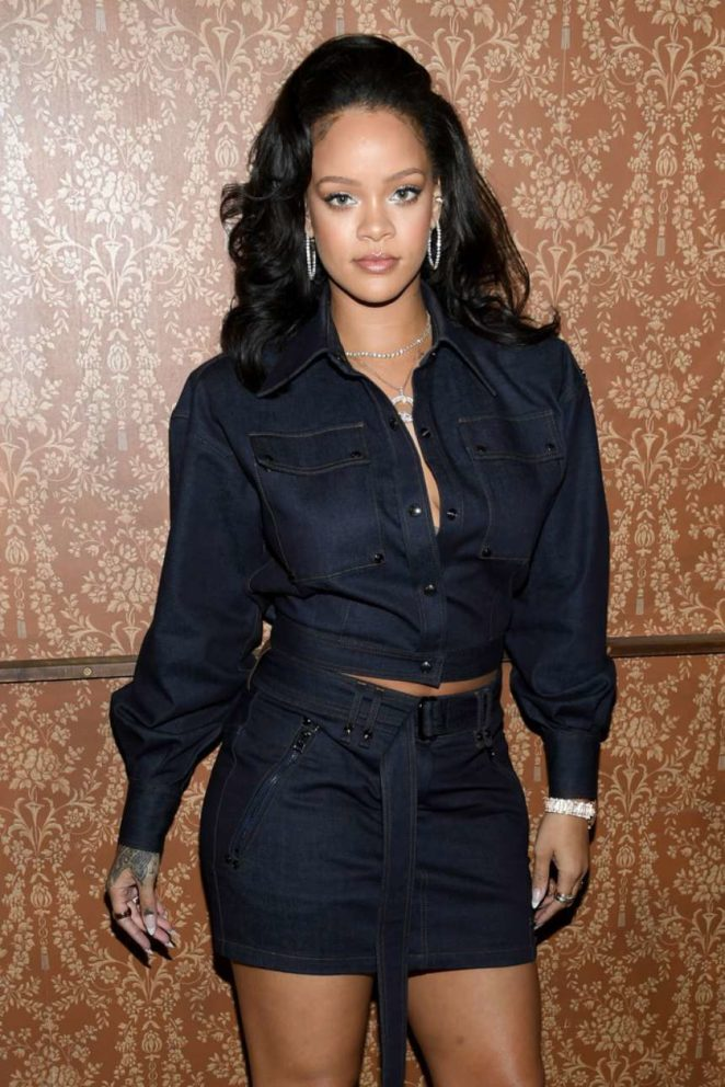 Rihanna - Vogue's Forces of Fashion Conference in NYC