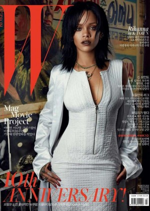 Rihanna - W Korea Cover (March 2015)