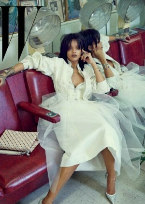 Rihanna - W Korea Magazine (March 2015)