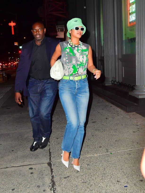 Rihanna - With her boyfriend ASAP rocky in New York City