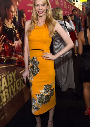 Riki Lindhome - 'Baby Driver' Premiere in Los Angeles