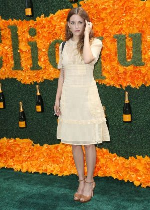 Riley Keough - 2016 Veuve Clicquot Polo Classic in New Jersey
