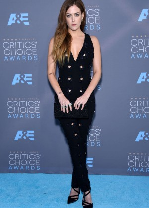 Riley Keough - 2016 Critics' Choice Awards in Santa Monica
