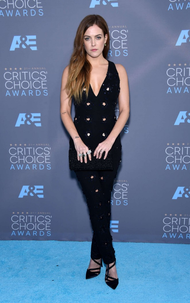 Riley Keough – 21st Annual Critics' Choice Awards in Santa Monica