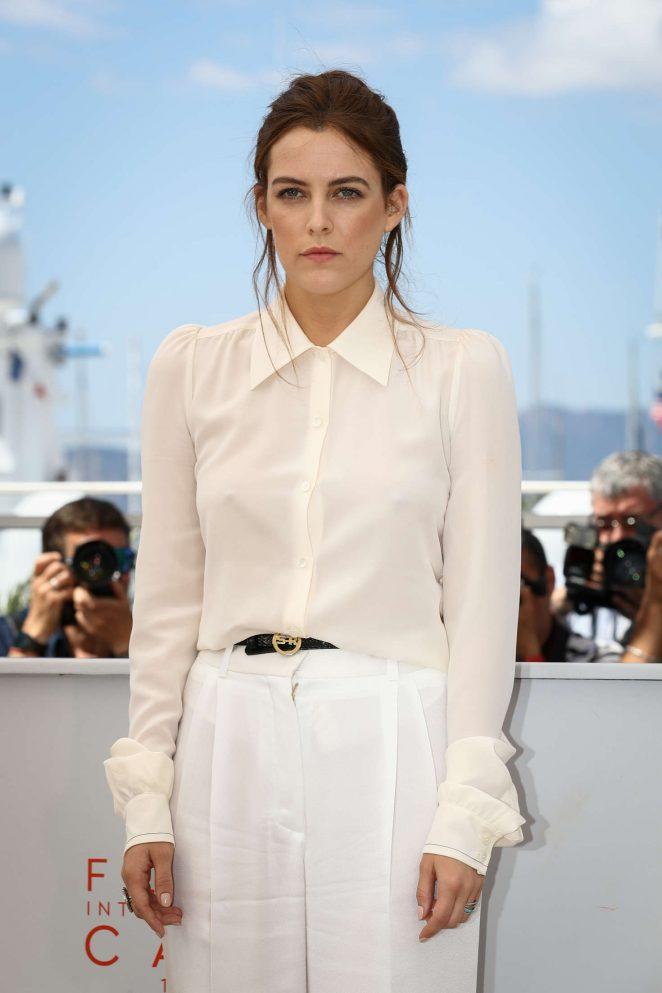 Riley Keough – 'American Honey' Photocall at 2016 Cannes Film Festival