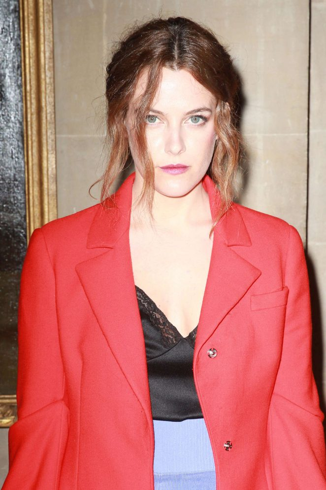 Riley Keough - Christian Dior 2017 Collection in Woodstock