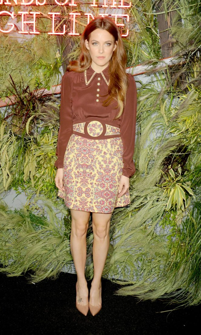 Riley Keough - Coach and Friends of the Highline Summer Party in New York