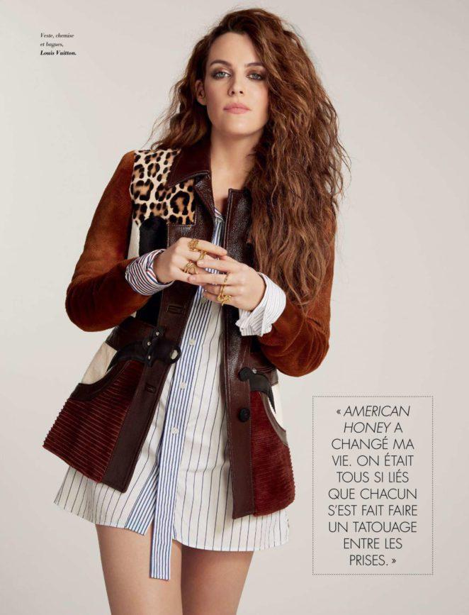 Riley Keough – Glamour Magazine (December/January 2017/2018)