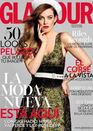 Riley Keough - Glamour Spain Magazine (September 2016)