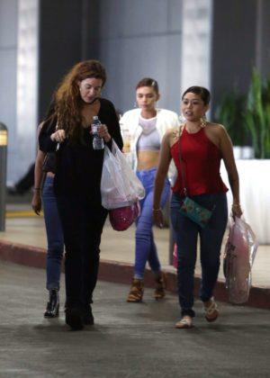 Riley Keough - Leaves Topanga Mall in Woodland Hills