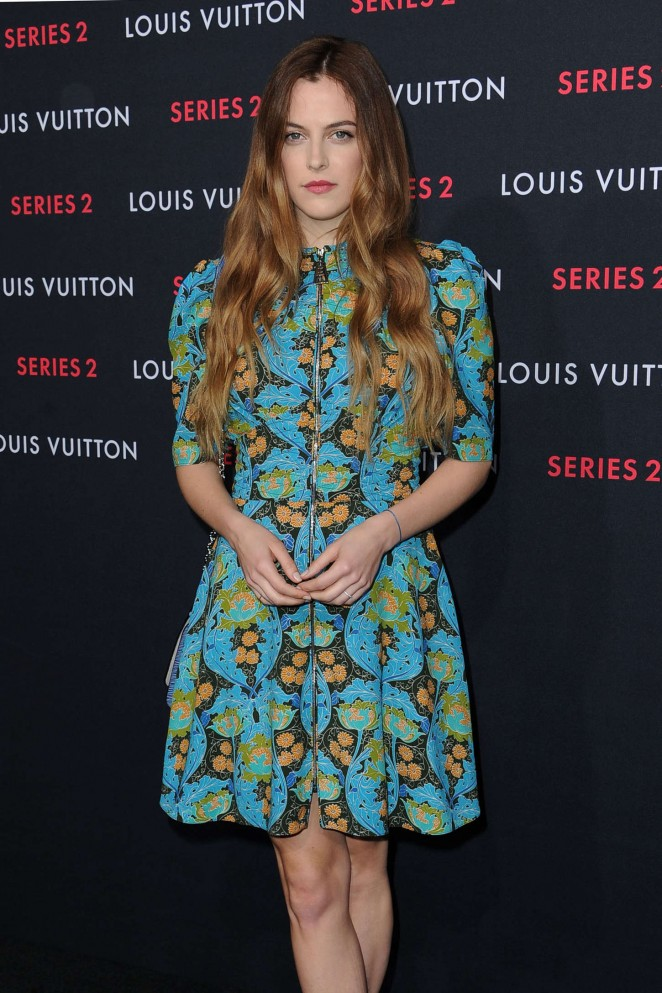 "Riley Keough - Louis Vuitton ""Series 2"" The Exhibition in Hollywood"