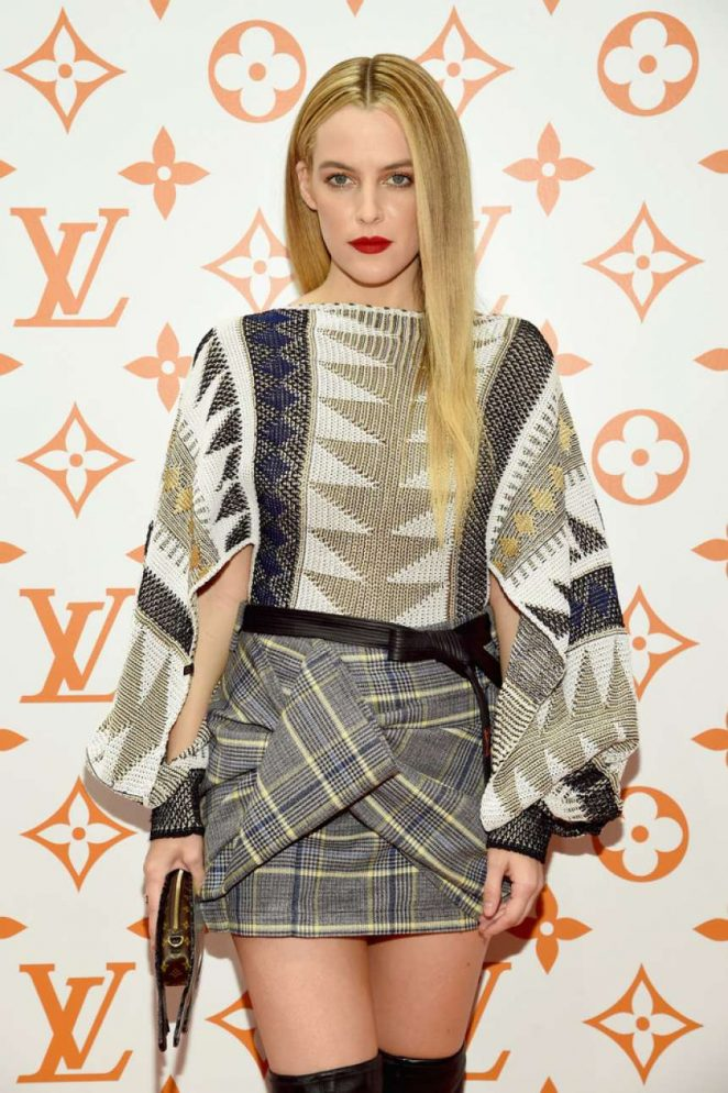 Riley Keough – Louis Vuitton x Grace Coddington Event in NYC