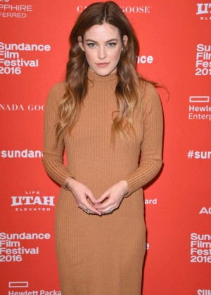 Riley Keough - 'Lovesong' Premiere at 2016 Sundance Film Festival