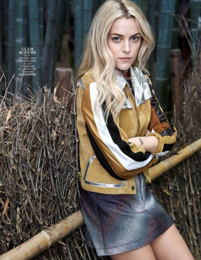 Riley Keough – Madame Figaro Magazine (December 2017)