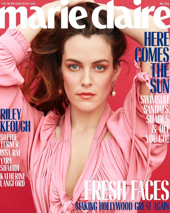 Riley Keough - Marie Claire US Magazine (May 2018)