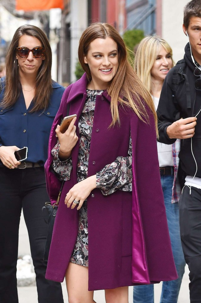 Riley Keough Out in New York