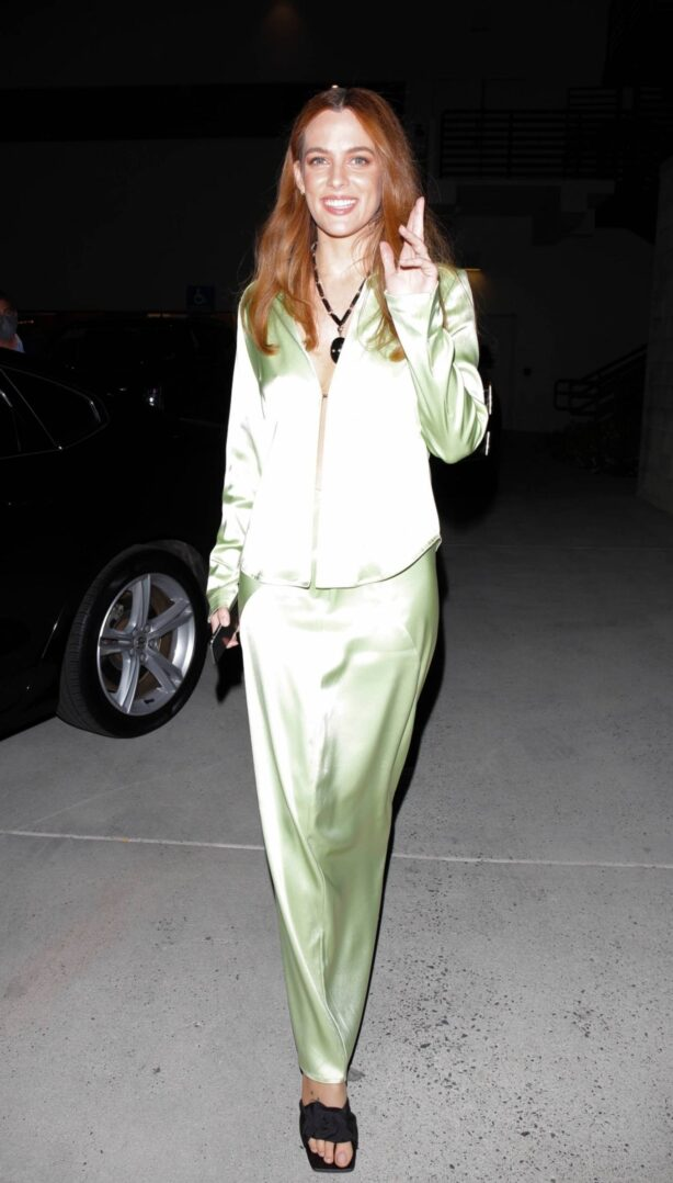 Riley Keough - Seen leaving a QandA event in Hollywood