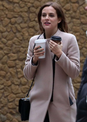 Riley Keough - Set of 'The Girlfriend Experience' in Toronto