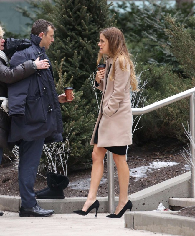 Riley Keough: Set of The Girlfriend Experience -13