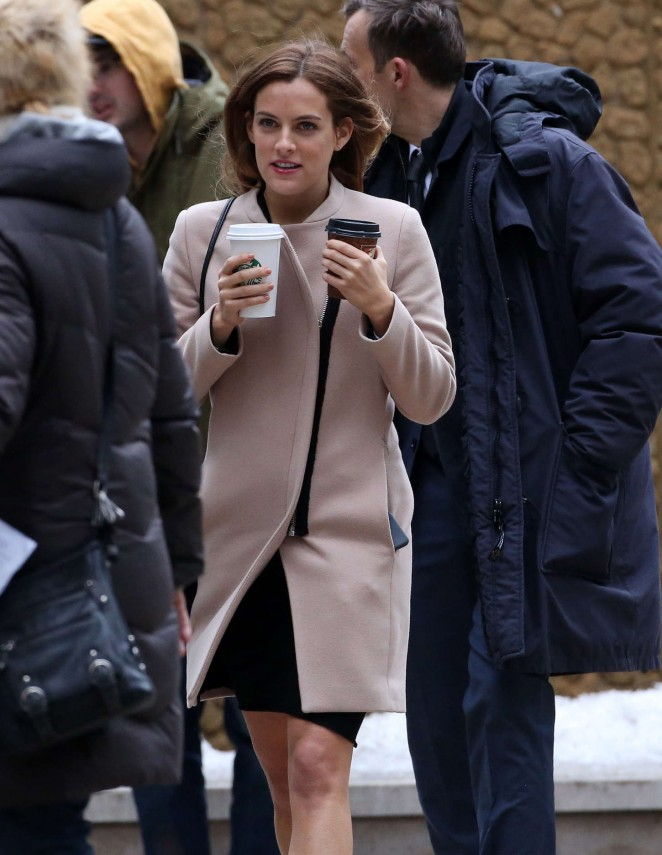 Riley Keough: Set of The Girlfriend Experience -21