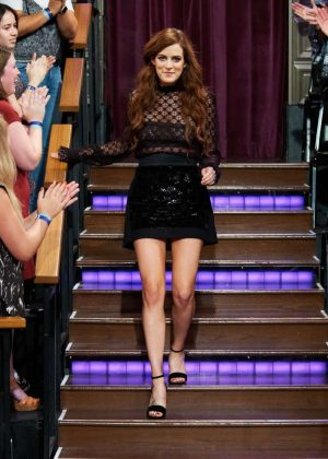 Riley Keough  - 'The Late Late Show' with James Corden in Los Angeles