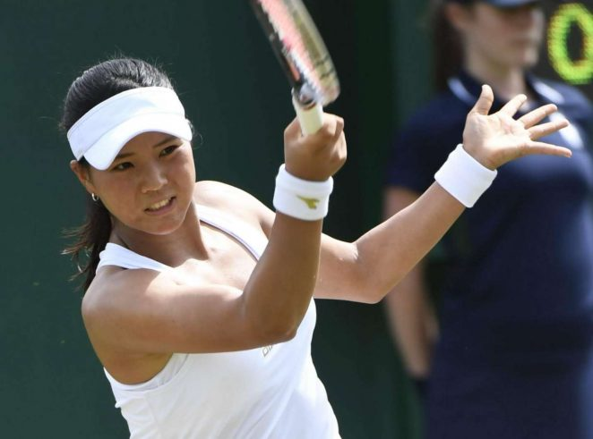 Risa Ozaki - Wimbledon Championships 2017 in London